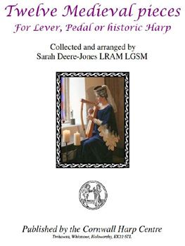12 Medieval Harp pieces - pdf download