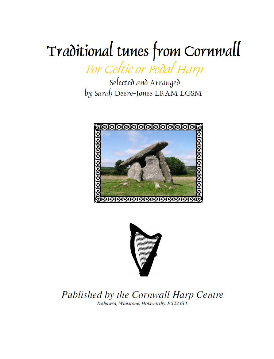 Traditional music of Cornwall for Harp - pdf download